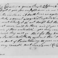 Samuel Culper to Benjamin Tallmadge, June 8, 1779